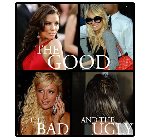 Blonde hair extensions before and after of bad hair extensions